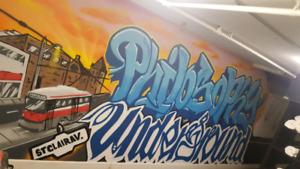 Graffiti/Mural Artist for Hire