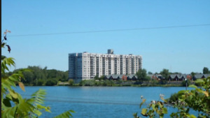 A beautiful large 4 1/2 water view Condo in Brossard for RENT