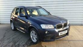 image for 2014 BMW X3 xDrive20d M Sport 5dr Step Auto SUV diesel Automatic