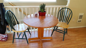 Solid wood older table