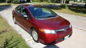 2008 Honda Civic DX-G Sedan,Include Remote starter&Engine heater