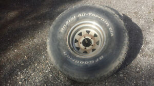 Set of 35s with spares package deal