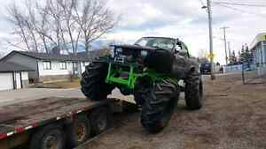 """Toyota on rockwells and 55 """" tractor tires"""