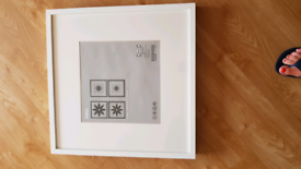 IKEA Ribba white picture frame