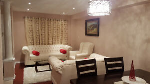 Well maintained semi-detached in Brampton North West for Rent