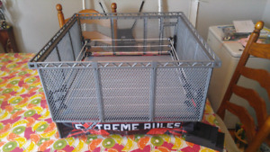 Authentic size WWE ring/steel cage set