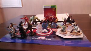 Disney Infinity Xbox 360 Game + Character Set