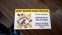 Busy Beaver Cleaning Service