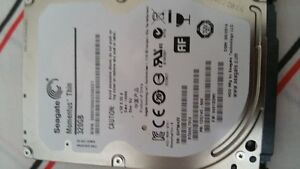 HARD DRIVE FOR LAPTOP SEAGATE 320GB & FUJITSU 320GB