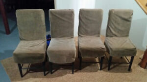 Dining Room/Kitchen Chairs - set of 4