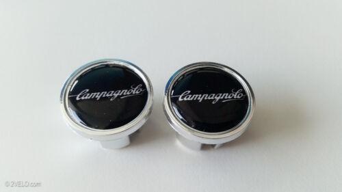 Vintage style Campagnolo writen Handlebar End Plugs