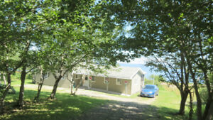 Cape Breton Oceanfront Oasis - Quiant;Fully Furnished;Home 1.5ac