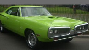 Looking for a classic muscle car or truck