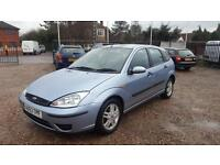 2004 Ford Focus 1.6i 16v Long MOT 3 Owners Bargain