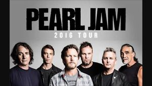 2 PEARL JAM TICKETS - SOLD OUT SHOW