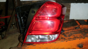 2018 Chevy Trax tail lamp assembly