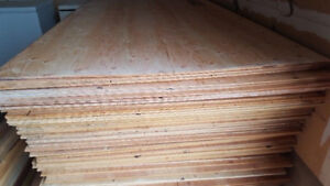 "3/8"" Spruce Plywood 4X8 SHEETS - $18.50 a sheet"