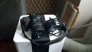 Nikon D7000 DSLR with 18-105 mm Lens