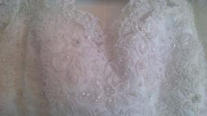 Robe de mariage avec voile