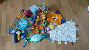 baby toys and rattles