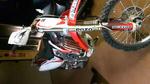 2005 Honda crf450r Great condition
