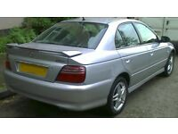 Wanted Honda Accord - silver 2001 or 2002