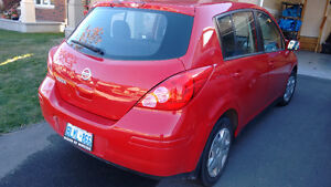 2011 Nissan Versa - LOW MILEAGE, ONE FAMILY OWNED, SNOW TIRES