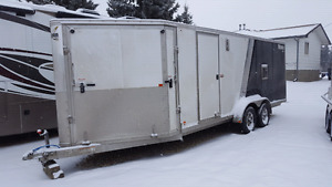 2012 Mission 7x20 enclosed trailer