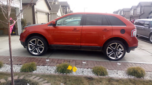 Ford edge 2008 limited edition AWD with updated Navi system