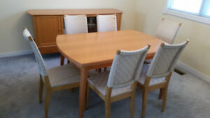 Dining Table,Chairs,Sideboard