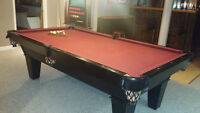 Centre Spot Slate 8 x 4 Pool Table with Extras