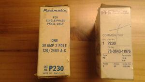 Disjoncteurs Siemens/ITE 20 ampères