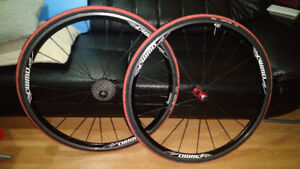 WMD a280 wheelset with White Industries T11 Hubs