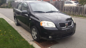 2007 PONTIAC WAVE , WITH REMOTE STARTER, VERY GOOD CONDITION