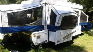 13' Jayco tent trailer.