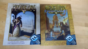 Scarab Lords - Like New + Minotaur Lords - unpunched