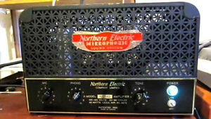 Old Northern Electric vacuum tube amps