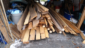 Mixed lot of boards /lumber for sale  or trade
