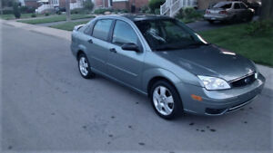 2006 Ford Focus SES SEDAN LOW KMS ! NO RUST ! ETESTED!
