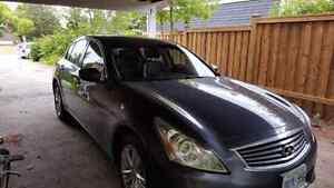 2010 Infiniti g37x with tech package. AWD, 328hp