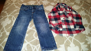 Boy Gap jeans 2ur old and CP shirt