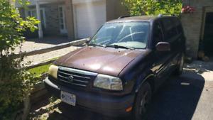 2001 Suzuki XL-7 for sale 1000 OBO