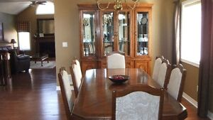 Dining Room Buffet, Hutch, Table & Chairs