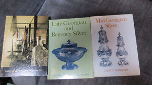 books on silver and Corning glass