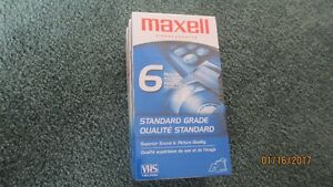GOOD DEAL! Brand New Audio and Video Cassettes Tapes