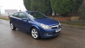Vauxhall Astra Sri 150 1.9 Cdti 3dr Hatchback Blue (Satnav)