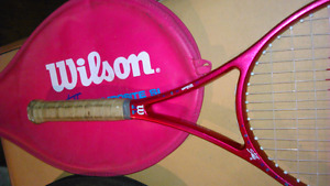 TENNIS RACKET, and BADMINTON RACKET