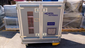 Large Road Case, 2 Sided on Wheels