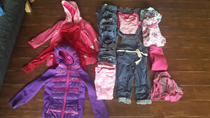 Little girls clothes size 4-5
