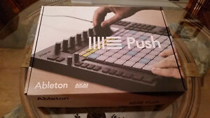 ABLETON PUSH + LIVE 9 STANDARD **BRAND NEW** (VALUE OVER $1,000)